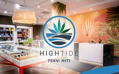 High Tide Opens New Canna Cabana Store in Calgary's Beltline Neighbourhood
