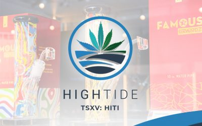 High Tide Launches Sale of Hemp Derived CBD Products on Grasscity.com