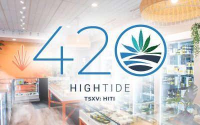 High Tide Marks '420' Holiday by Launching New Store in Edson, Alberta