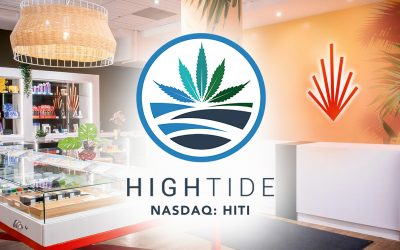 High Tide Opens New Canna Cabana Retail Cannabis Stores in Fort Erie and Innisfil, Ontario